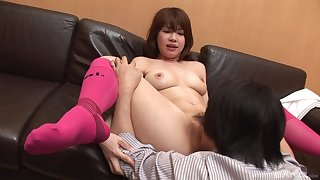 Japanese amateur in scenes of vocal coition and naked porn