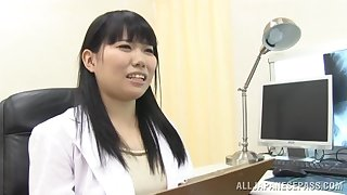 Sheet be advantageous to adorable Japanese alloy sucking a dick be advantageous to her patient