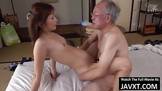 Exciting Asian Young Babe Had Dealings by Grandpa - old plus 18yo schoolgirl